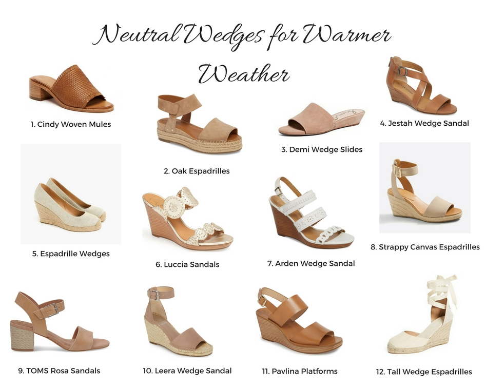 145ef948bf5 Neutral Wedges for Warmer Weather – The Autumn Girl