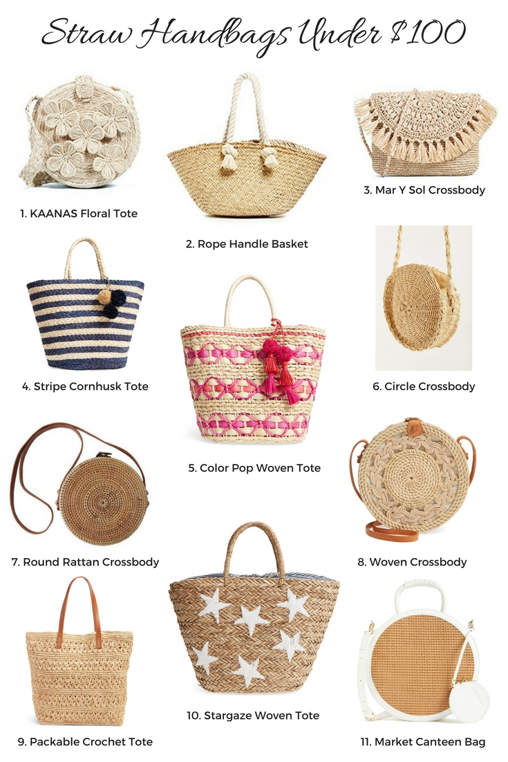 Straw Handbags Under 100 Exciting Life Update